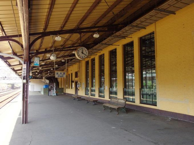 小樽駅4番線
