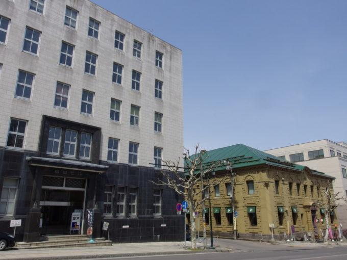 北のウォール街と称された小樽の金融街
