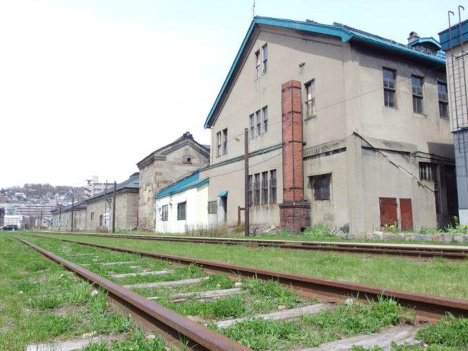 小樽に残る旧国鉄手宮線廃線を始点から終点までのんびり散歩