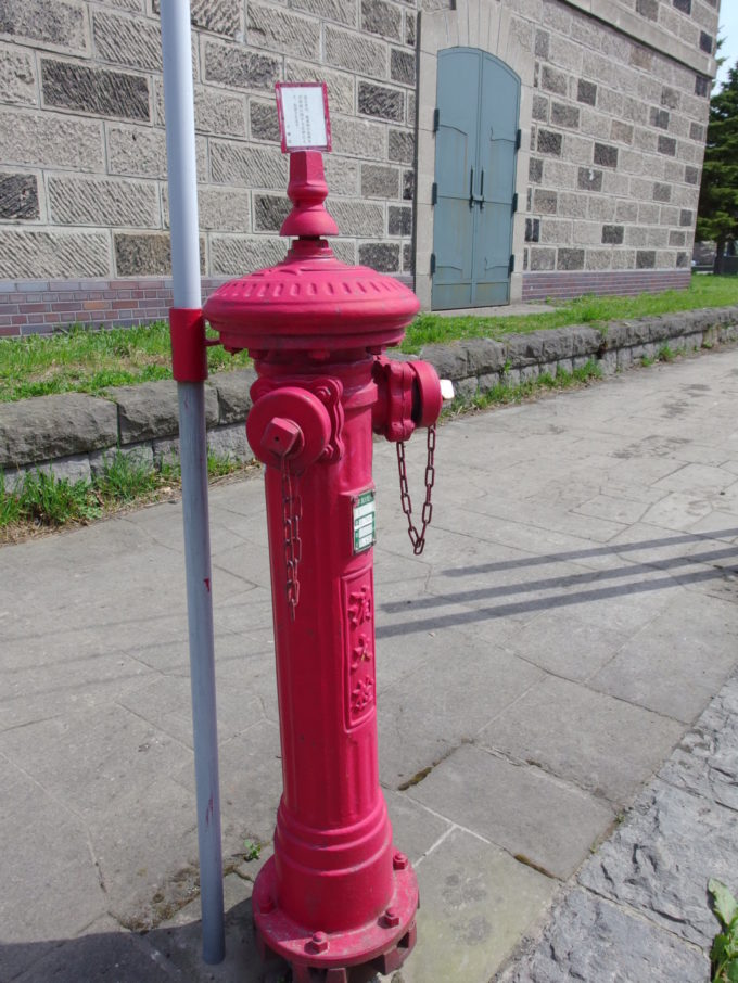 小樽のレトロな消火栓