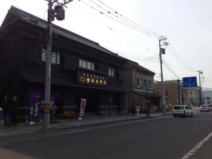 木骨鉄網コンクリート造という珍しい構造の小樽旧塚本商店