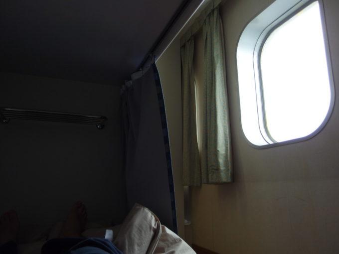 新日本海フェリーはまなすツーリストA(寝台)でごろごろ過ごす怠惰な時間