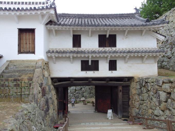 姫路城の美しさを存分に味わい西の丸へ