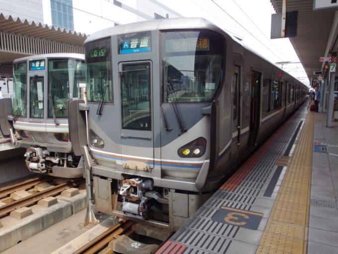 JR赤穂線225系播州赤穂行き