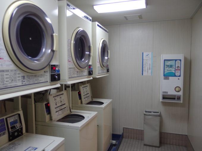 新日本海フェリーはまなすコインランドリーで洗濯を
