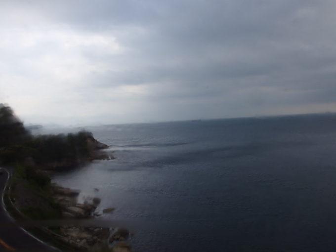 WILLERTRAINS京都丹後鉄道宮舞線しろまつから眺める若狭湾の海