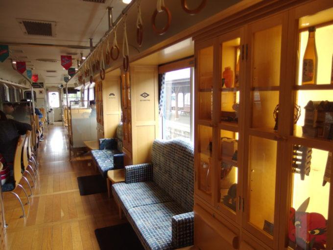 WILLERTRAINS京都丹後鉄道丹後あおまつ号木のぬくもりを感じる車内