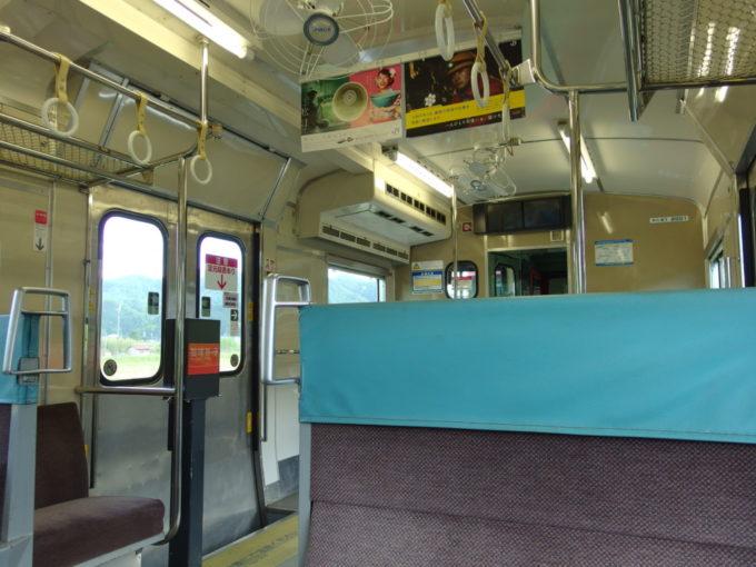 JR播但線昭和な雰囲気が濃厚なキハ41車内