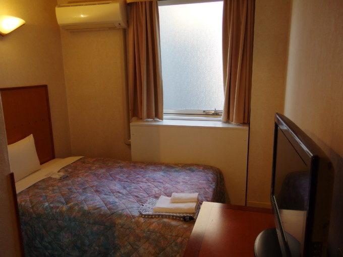 ホテル姫路プラザエコノミーシングル客室内