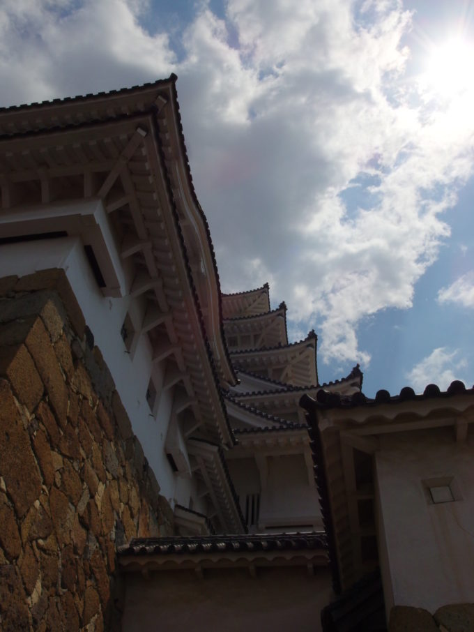 ゴールデンウィークの姫路城1時間かけて辿りついた大天守