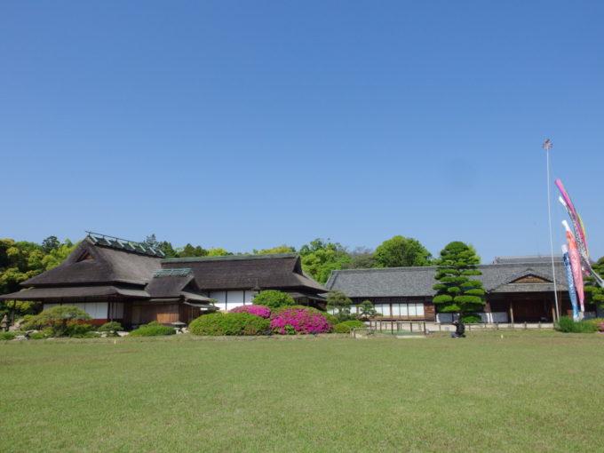 日本三名園後楽園藩主の居間であった延養亭