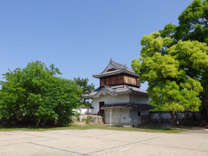 烏城公園岡山城現存する月見櫓