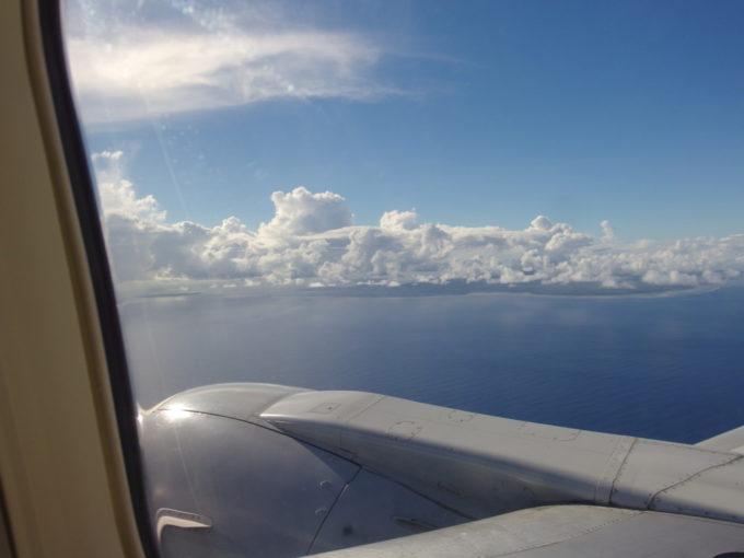 ANA石垣行きから眺める美しい島石垣島