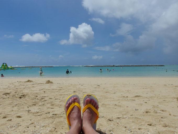 真栄里ビーチで味わう石垣島の夏の青さと灼ける暑さ