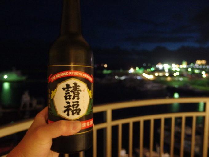 石垣島ホテルイーストチャイナシー夜のお供に請福BLACK