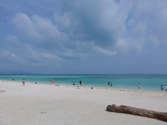 1年ぶりの竹富島どこまでも青く白いコンドイビーチ