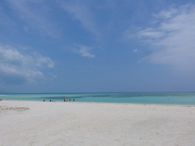 竹富島の夏の青さを満喫しコンドイビーチを去る