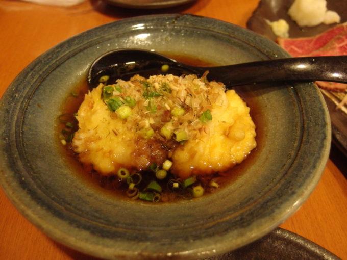 石垣島豊年満作ジーマミ豆腐の揚げだし