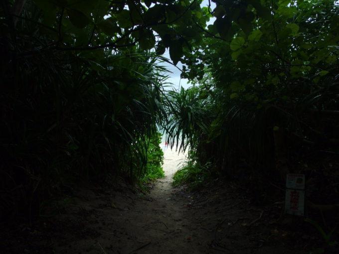 夏の石垣島雨の米原ビーチへ