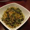 大根葉の梅じゃこ炒め・鶏肝と大根のマキシマム炒め