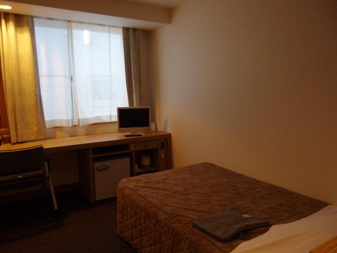 津軽の宿弘前屋きれいなシングルルーム室内