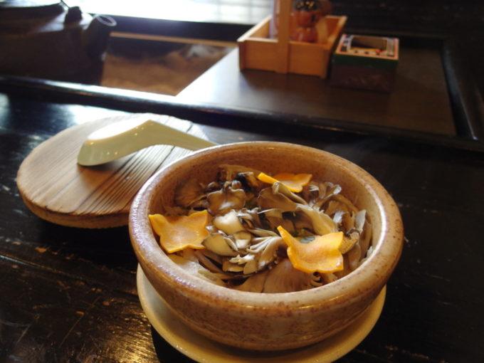 嶽温泉山のホテル名物マタギ飯