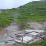 標高1400m東北地方最高地点の秘湯藤七温泉彩雲荘地獄谷にそのまま造られた混浴露天風呂