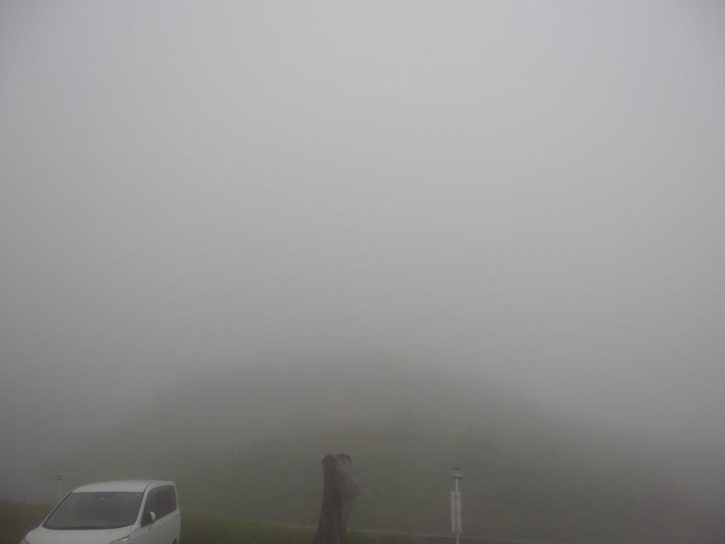 標高1400m東北地方最高地点の秘湯藤七温泉彩雲荘霧に煙る朝