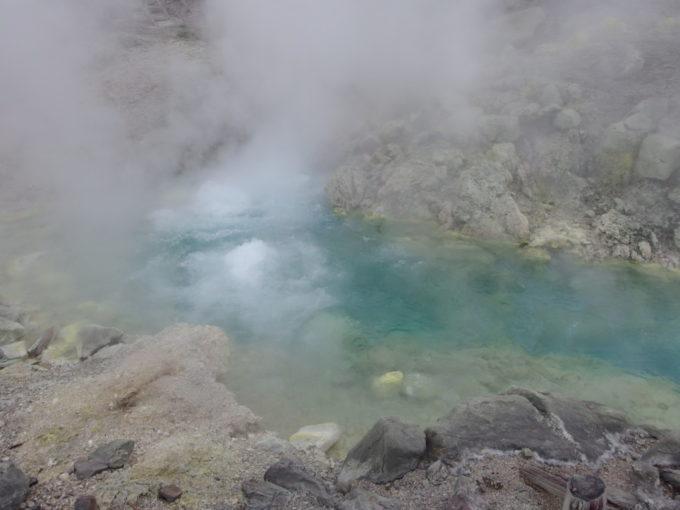 毎分9000ℓ湧出と日本一の強酸性を誇る玉川温泉源泉