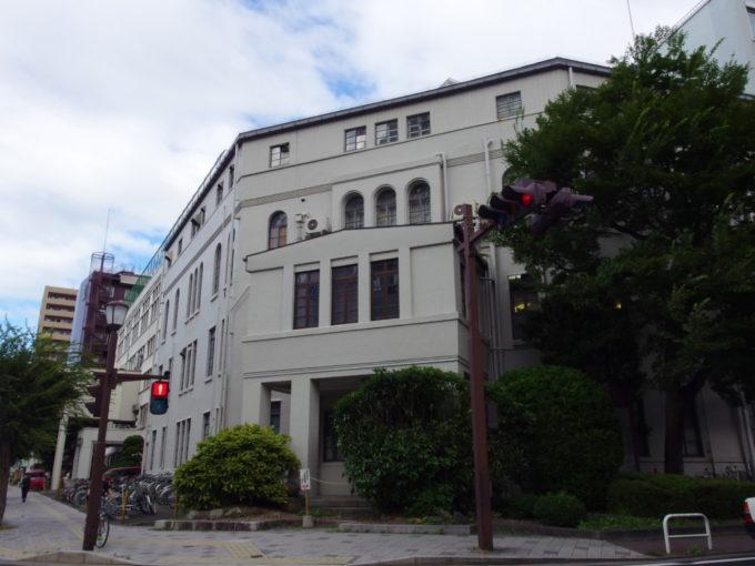 機能美を持つ岩手医科大学旧館