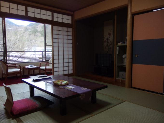 日光湯元温泉湯守釜屋本館和室