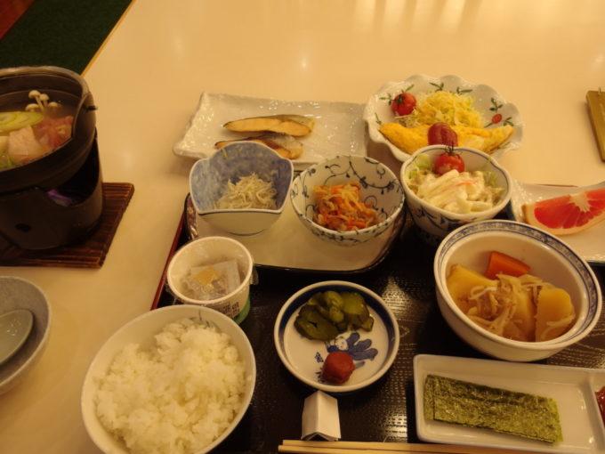 日光湯元温泉湯守釜屋2泊目朝食