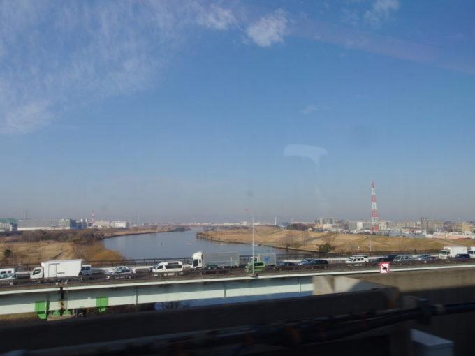 冬の東北へ 荒川を越えて無事東京脱出