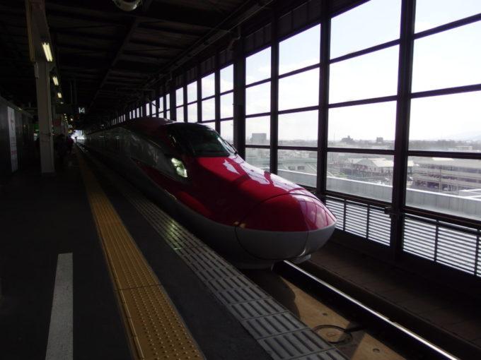 盛岡駅からE6系こまち号で田沢湖へ