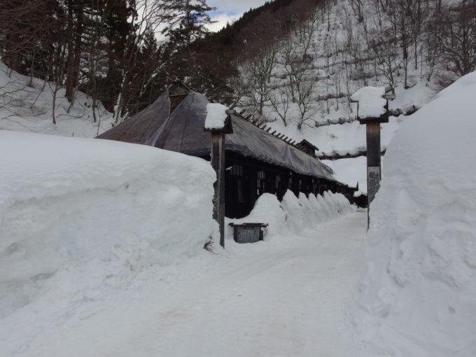 9年ぶり2度目の宿泊となる冬の乳頭温泉郷鶴の湯