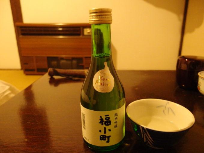 冬の乳頭温泉郷鶴の湯夜のお供に福小町純米吟醸