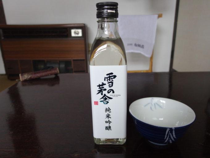 冬の乳頭温泉郷鶴の湯午後の愉しみ雪の茅舎純米吟醸