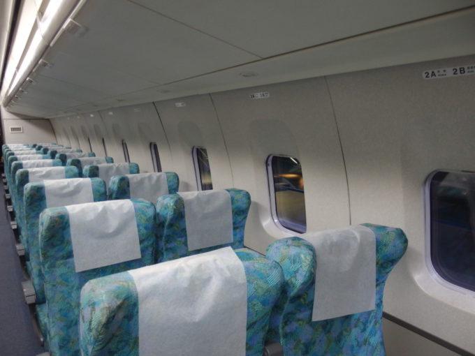 リニア・鉄道館MLX01-1飛行機のような車内