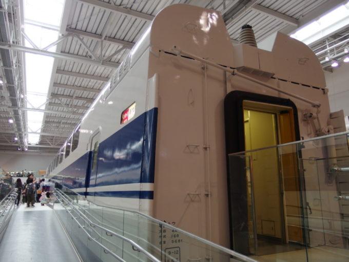 リニア・鉄道館初の2階建て新幹線100系あこがれたダブルデッカー