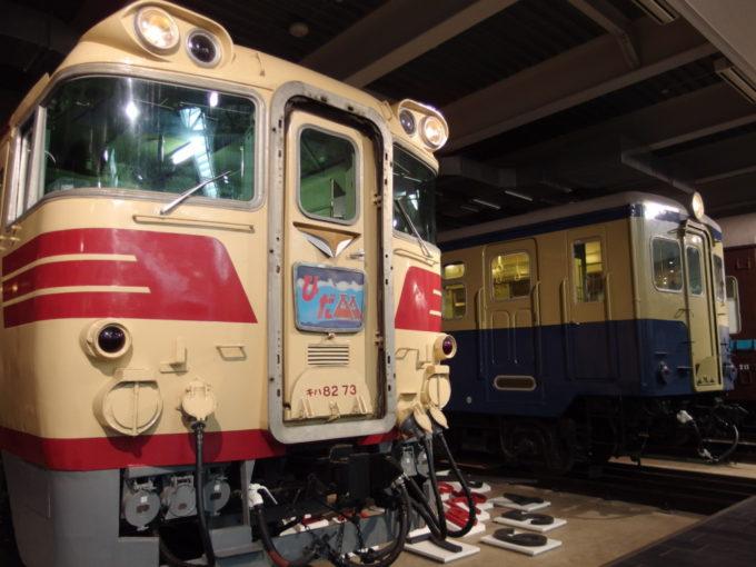 リニア・鉄道館キハ82系特急形気動車とキハ10系