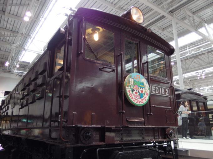 リニア・鉄道館ED18電気機関車