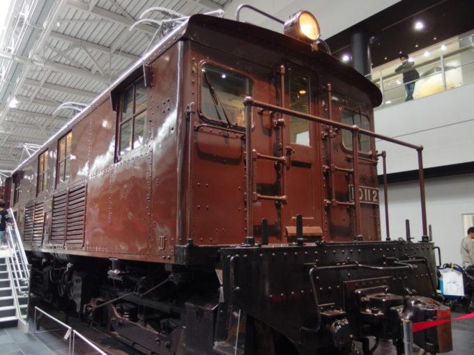 リニア・鉄道館ED11電気機関車