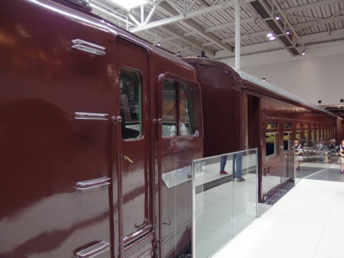 リニア・鉄道館EF58が牽引するスハ43