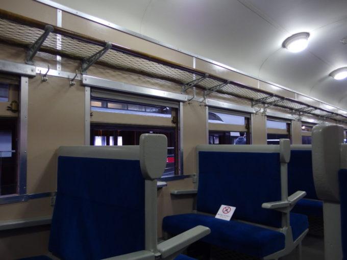 リニア・鉄道館温かい雰囲気漂うスハ43車内