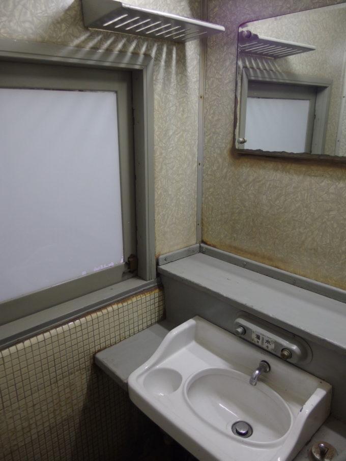 リニア・鉄道館スハ43洗面所