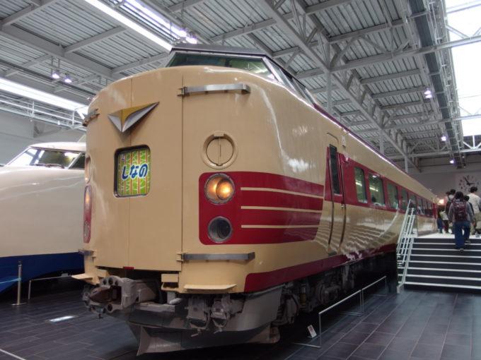 リニア・鉄道館381系特急電車