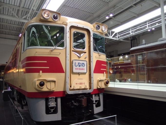 リニア・鉄道館キハ181系特急形気動車