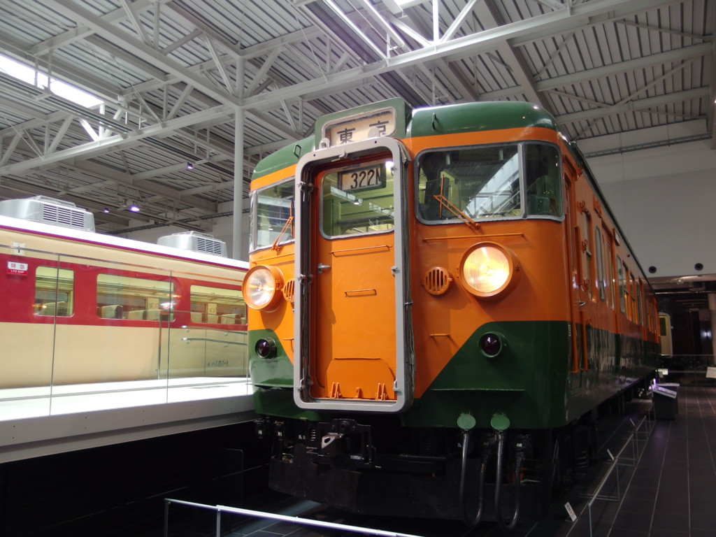 リニア・鉄道館111系電車