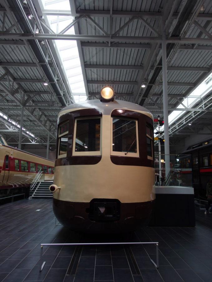 リニア・鉄道館52系電車の愛嬌ある正面