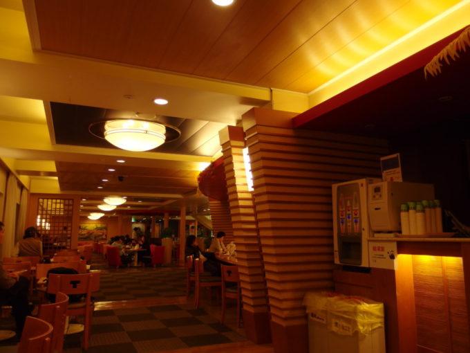 太平洋フェリーきそマーメイドクラブのゆったりとした雰囲気
